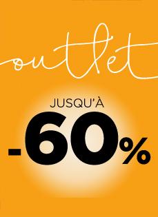 ... Outlets Chaussettes -60% · Outlets Bain -50% 2e18614e73c